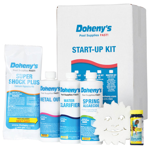 Doheny's Water Warehouse Pool Spring Start-Up Kit (10,000 gal. Pools)