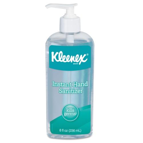 Kleenex Instant Hand Sanitizer, 8 oz, Pump Bottle, Sweet Citrus | PJP Marketplace