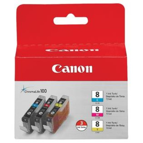 Canon INK, CLI-8, 3 COLOR INK TANK