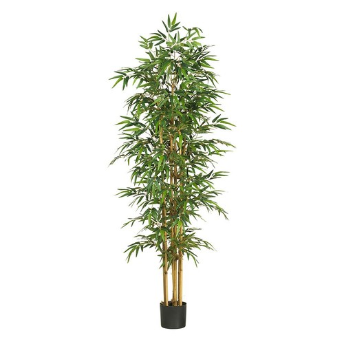 nearly natural 75-in. Bamboo Silk Tree