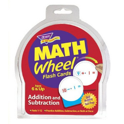 Math Wheel Addition and Subtraction Flash Card Game [1]
