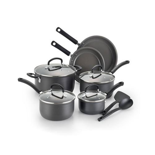 T-Fal Precision 12-pc. Ceramic Hard Anodized Cookware Set