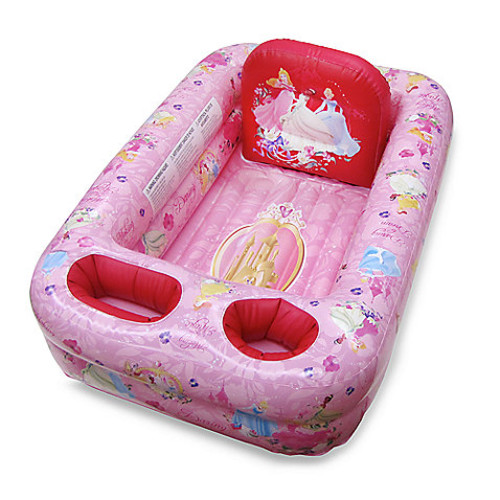 Ginsey Disney Princess Inflatable Bath Tub