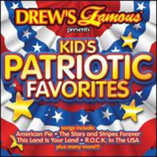 Drew's Famous - Kids Patriotic Favorites (CD)