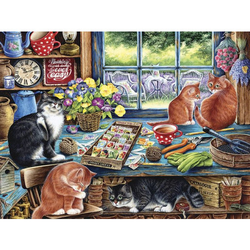Cats Retreat 500 pc puzzle