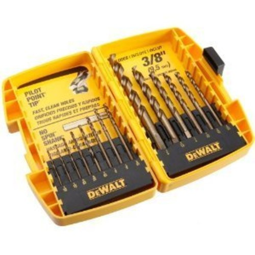 Dewalt DW1169 14 Piece Set Pilot Point Drill Bits