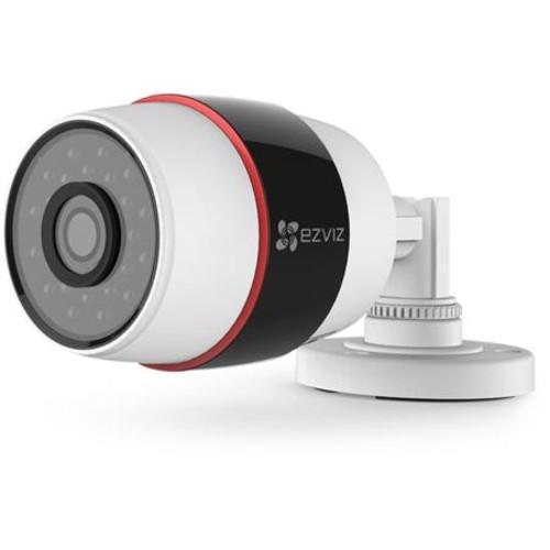 EZVIZ Husky CV-210 1080p Outdoor Wi-Fi Bullet Camera, 16GB microSD Card, 3 Pack