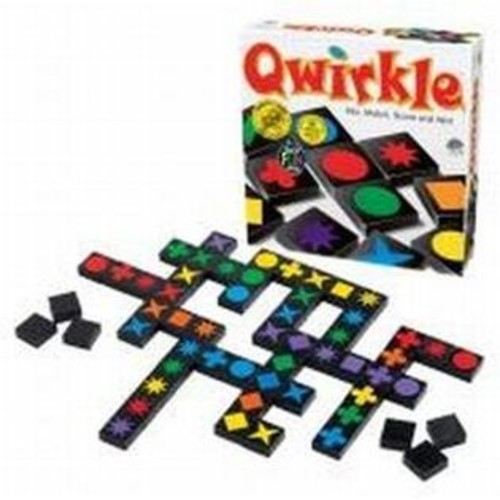 MindWare Qwirkle Family Party Board Game Spiel Des Jahres 2011 German Game Of The Yr