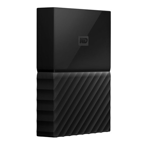 WD My Passport For Mac 3TB External Portable Hard Drive, Black