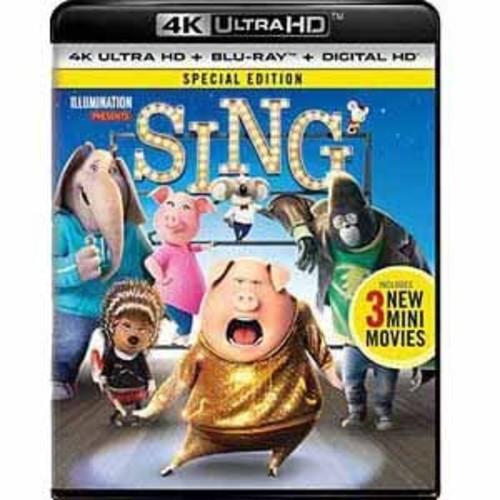 Sing (2016) [4K UHD] [Blu-Ray] [Digital HD]