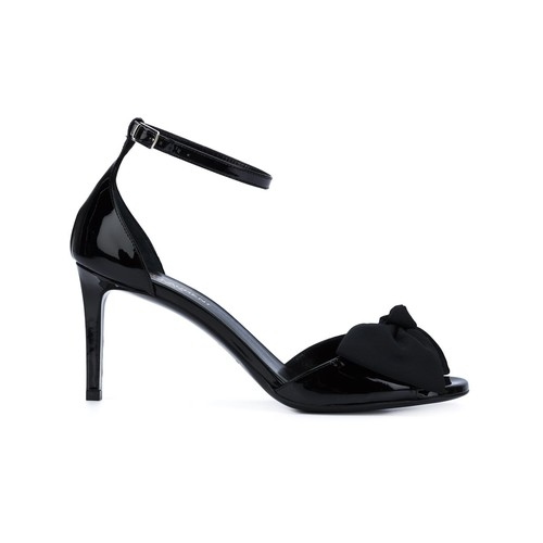 SAINT LAURENT 'Classic Jane' Bow Sandals