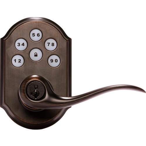Kwikset - SmartCode Lever Smart Lock - Bronze