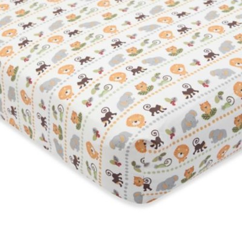 Lambs & Ivy Treetop Buddies Fitted Crib Sheet