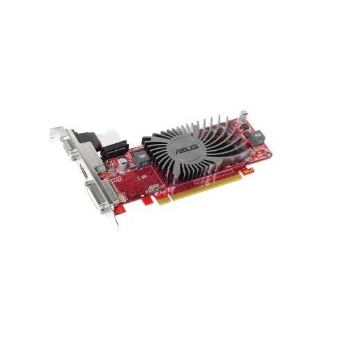 Asus EAH6450 SILENT/DI/1GD3(LP) Radeon HD 6450 Graphic Card - 625 MHz Core - 1 GB DDR3 SDRAM - PCI Express 2.1 x16 - Low-profile - 1200 MHz Memory Clock - 2560 x 1600 - Passive Cooler - HDMI - DVI -