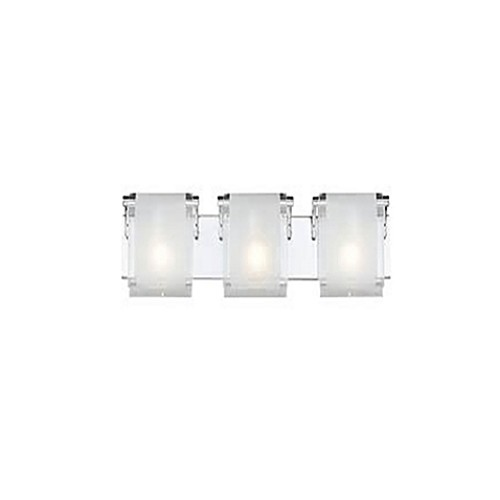 Gracia 3-Light Wall-Mount Vanity in Chrome
