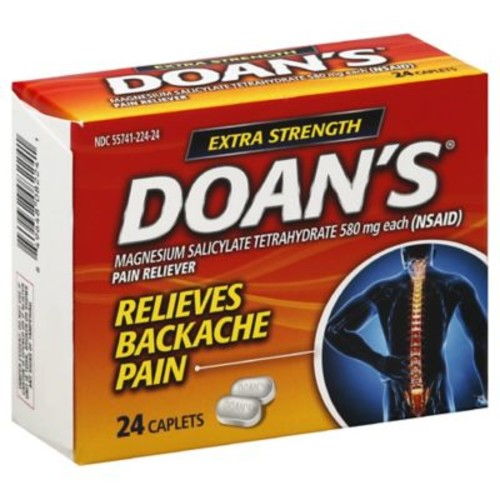 Doan's 24-Count Extra Strength Pain Relief Caplets