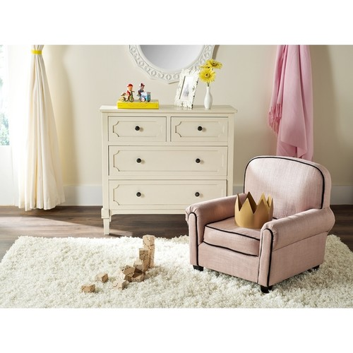 Safavieh Kids Tiny Tycoon Pink Childrens Club Chair