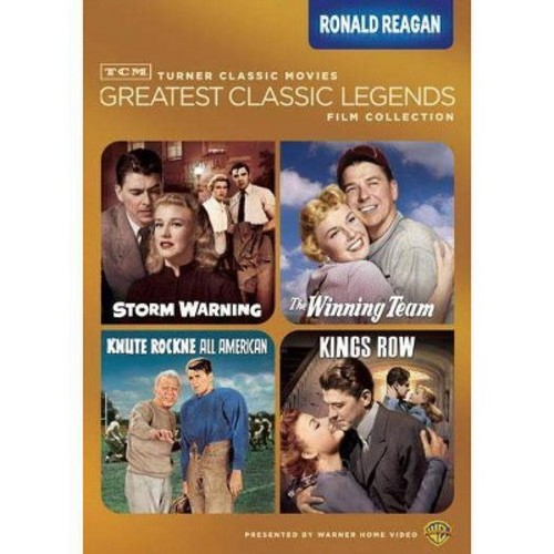 TCM Greatest Classic Legends Film Collection: Ronald Reagan [4 Discs] [DVD]