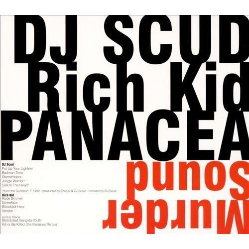 Murder Sound: DJ Scud/Rich Kid Panacea [CD]