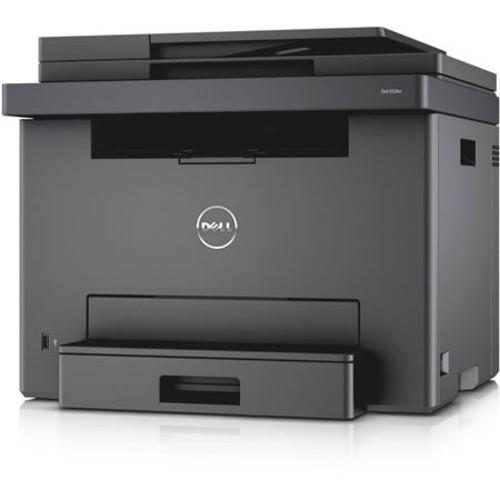 Dell E525w Multifunction Color Laser Printer - Print, Copy, Scan, Fax NJMVP