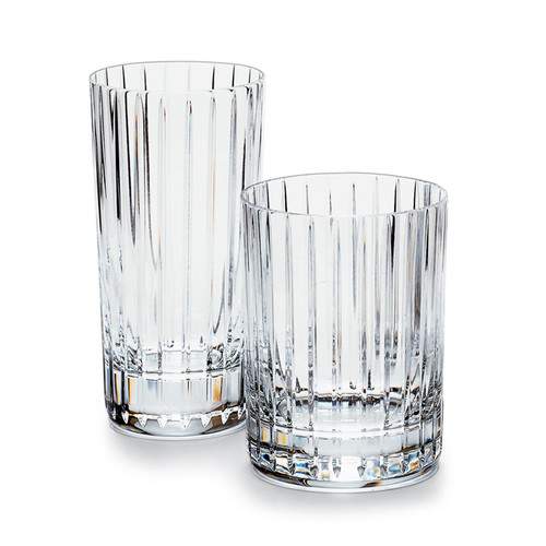 Baccarat highball glasses Harmonie Highball
