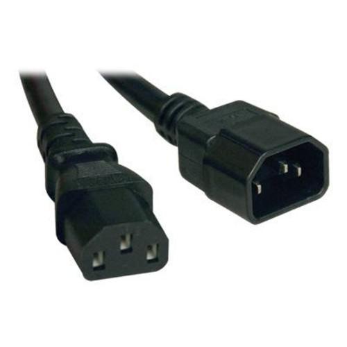 Tripp Lite 5' IEC-320-C14 to IEC-320-C13 Power Cord, Black