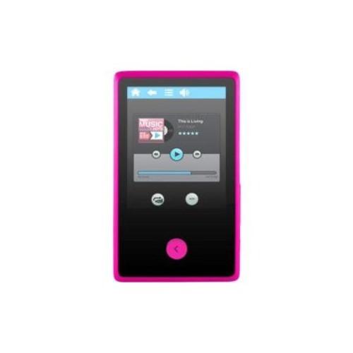 Ematic EM318VID 8GB Pink Flash Portable Media Player w/ 2.4