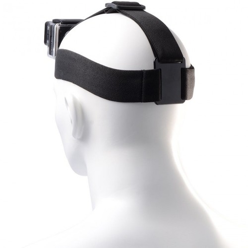 GoPro HERO4 Session Camera + Case + Head & Chest Strap + 64GB + Selfie Stick Kit