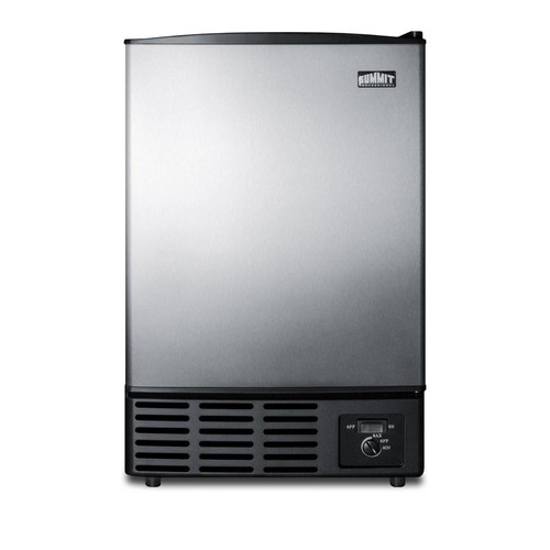 Summit 12 lb. Built-In Ice Maker in Stainless Steel