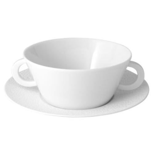 Ecume White Cream Soup Cup