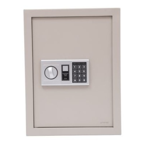 HomCom Digital Lock Security Safe; Gray