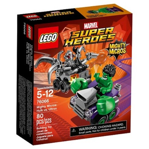 LEGO Super Heroes Marvel Mighty Micros: Hulk Vs. Ultron (76066)