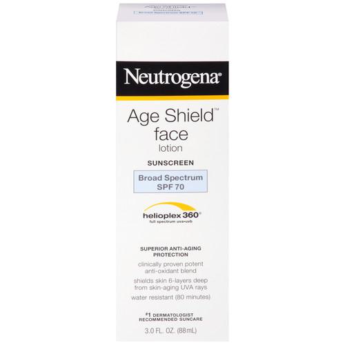 Neutrogena Age Shield Face Sunblock, SPF 70, 3 fl oz (88 ml)