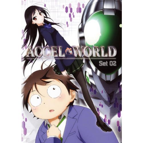 ACCEL WORLD-SET 2 (DVD/2 DISC) (DVD)
