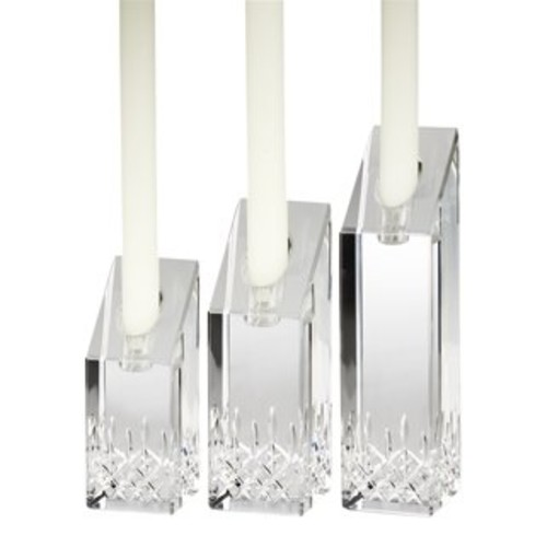 Waterford Candle Holders Set of 3 Lismore Essence Candlesticks