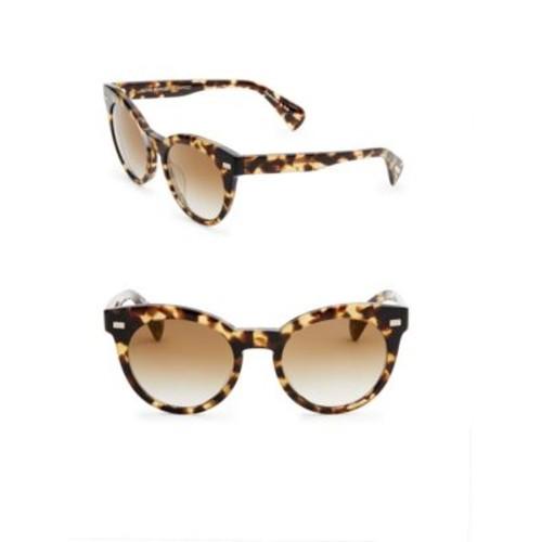 Dore 51MM Gradient Mirrored Cat Eye Sunglasses