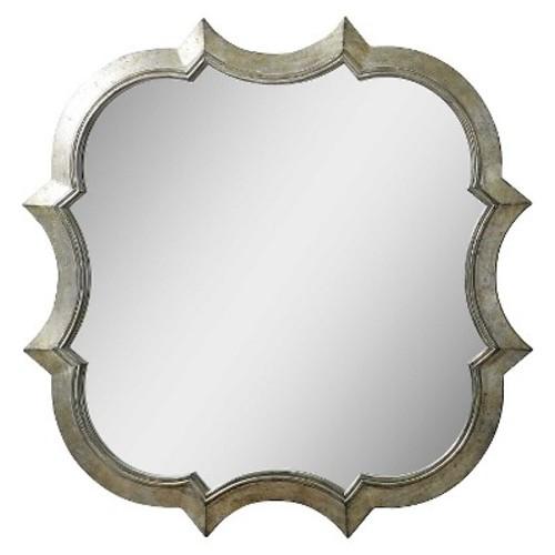 Uttermost Farista Antique Silver Mirror