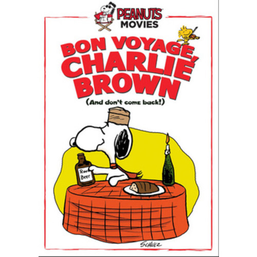 Bon Voyage, Charlie Brown (and Don't Come Back!!) (DVD)