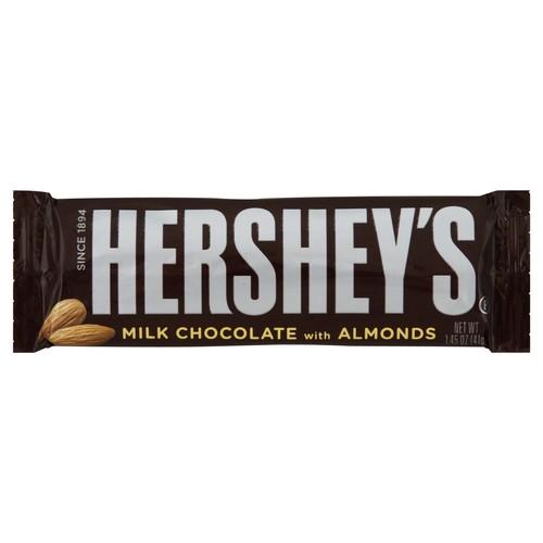 Hersheys Milk Chocolate, with Almonds 1.45 oz (41 g)