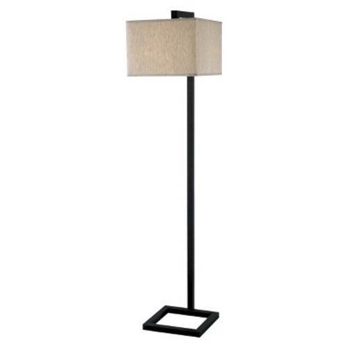 Kenroy Home Oil Rubbed Bronze Finish 4 Square Floor Lamp