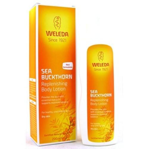Weleda Replenishing Body Lotion, Sea Buckthorn, 6.8 Fluid Ounce [Replenishing Body Lotion, Sea Buckthorn]