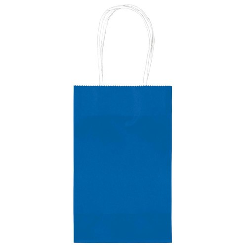 Amscan 8.25 in.x 5.25 in. Royal Blue Paper Cub Bags Value Pack (10-Count, 4-Pack)