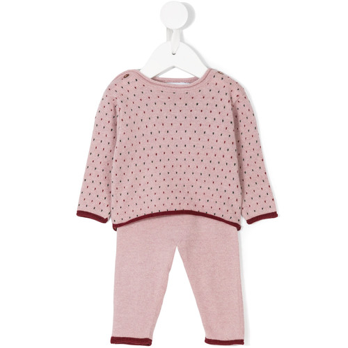 Dots knitted set