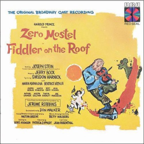 Fiddler on the Roof Original Broadway Cast Recording