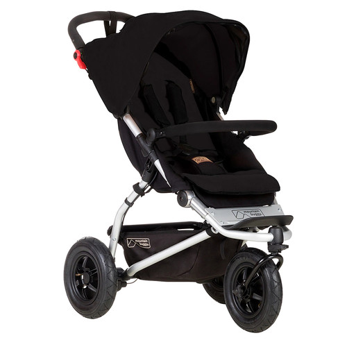 Mountain Buggy Swift Compact Stroller, Black [Black]