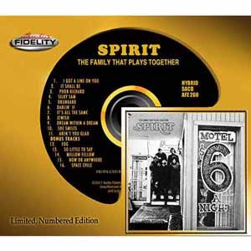 Spirit - The Family That Plays Together [Audio CD]