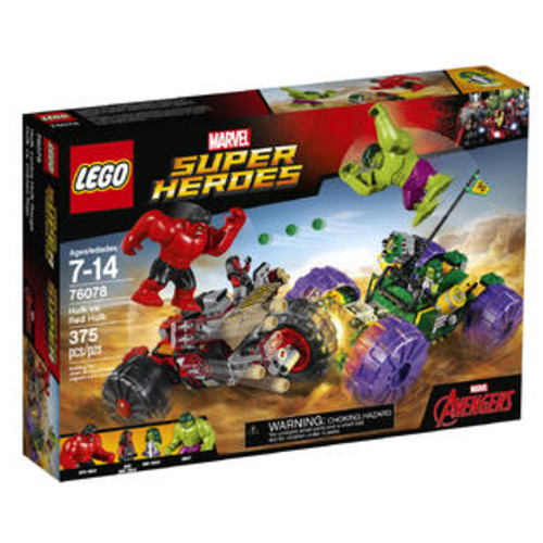 LEGO Marvel Super Heroes Hulk Vs. Red Hulk (76078)