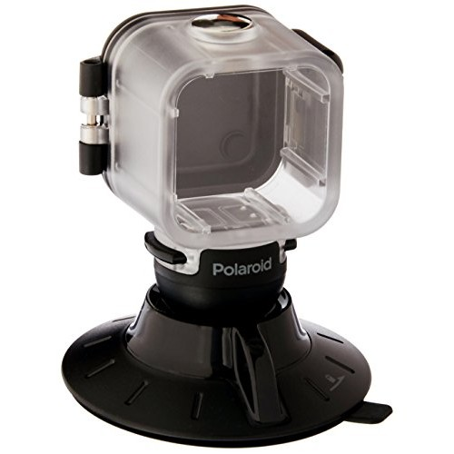 Polaroid Suction Cup Mount for the Polaroid CUBE, CUBE+ HD Action Lifestyle Camera  Includes Waterproof Case