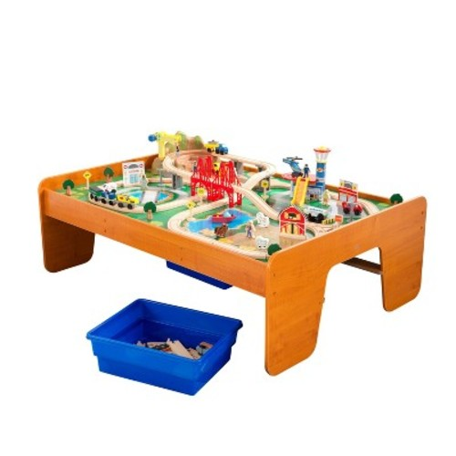 KidKraft Ride Around Town Train Set & Table