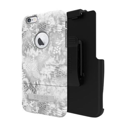 Seidio - SURFACE Kryptek Combo Case for Apple iPhone 6 Plus and 6s Plus - Camouflage Yeti